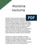 miclonia nocturna