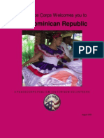 The Peace Corps Welcomes you to The Dominican Republic August 2015