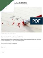 TAF - Pacote Atualizações 11-09-2015 - User Function