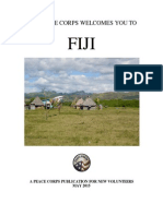 THE PEACE CORPS WELCOMES YOU TO Fiji MAY 2015