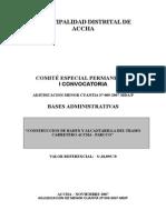 """""""CONSTRUCCION DE BADEN Y ALCANTARILLA DEL TRAMO CARRETERO ACCHA - PARCCO"""""""