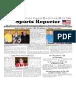 October 14 - 20, 2015  Sports Reporter