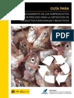 Subproductos de Pescado Para La Obtencion de Productos Funcionales y Bioactivos