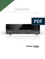 Owner Manual - AVR70 (English)