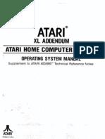 Atari XL Addendum - OS Manual