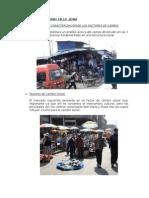 Análisis Del Entorno en La Zona de Huancayo