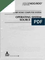 Atari 400-800 Operation System Source Listning