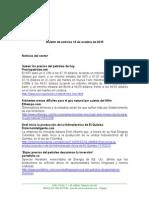 Boletín de Noticias KLR 14OCT2015