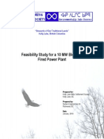 2 10 MW Biomass Plant Feasibility Study Final
