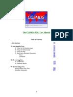 Cosmos VDC User Manual