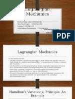 Langrangian Mechanics