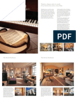 Suite Brochure - Claridge's, Maybourne Hotel Group, London, United Kingdom