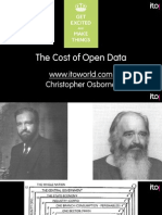 The Cost of Open Data