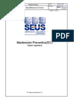Manual Mantencion Preventiva 2012