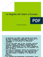 La Llegada Del Islam a Europa
