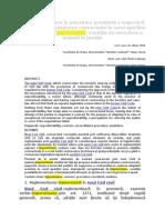 Aspecte Privitoare La Procedura Prealabilă a Negocierii Părţilor Pentru Adaptarea Contractului În Cazul Apariţiei Unor Cazuri De