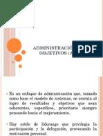 Administración Por Objetivos (APO) Ok