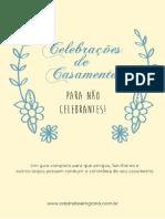 E Book Celebracoes de Casamento Para Nao Celebrantes