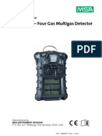 Operating Manual Four Gas Multigas Detector