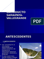 Gasoducto Samaipata- Vallegrande