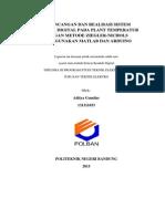 Laporan Praktikum Kendali Suhu menggunakan PID di Lab Sistem Kendali Teknik Elektronika Politeknik Negeri Bandung