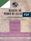 Muerte de Pedro de Alvarado, Cartas