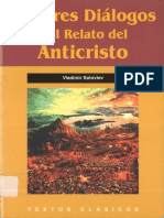 Los tres dialogos y el relato del Anticristo - Soloviev, V.