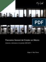 Panorama General Del Empleo en México