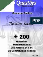 200 Questoes Direitos Sociais