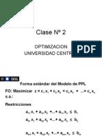 Clase 2 Programación Lineal
