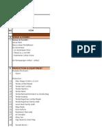 Cost Structure Bimoli-medan