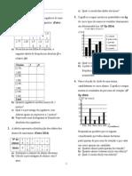 Exercicios de estatistica
