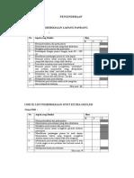 Checklist OSCE