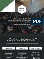 Ironhack Presentation