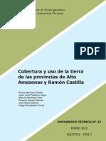 DT Cobertura y Uso de La Tierra de Peru IIAP