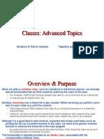 4.2 Advanced Classes