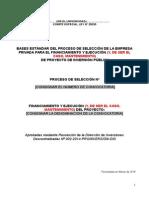 BASES - Selección Empresa Privada 2014
