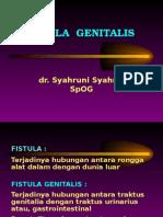 Fistula Genitalis
