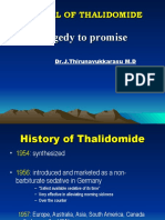 Revival of Thalidomide