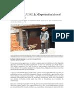 Artículo de La Razón_Trabajo Infantil Alpacoma