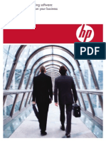 Hp Business Process Testing Software Test Automation Focused on You Business