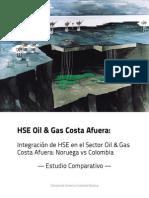 Rian Et Al. 2013. Offshore - Integracion HSE en El Sector Oil Gas Offshore en Colombia y Noruega
