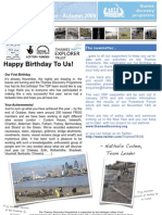 TDP Newsletter Autumn 2009