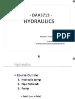 #1 - 1 - Hydraulic Jump