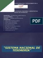 Exposición Sistema de Tesorería