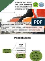 Presentasi tugas UU 555