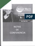 Conferencia - David Baro