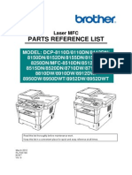 Mfc-8520dn Part List