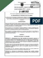 Decreto 803 Del 24 de Abril de 2013 Impuesto Consumo
