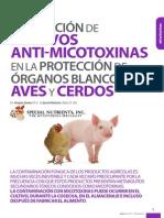 Evaluacion de Aditivos Antimicotoxinas en La Proteccion de Organos Blanco en Aves y Cerdos